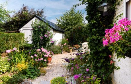De tuin van de moeder van raoul