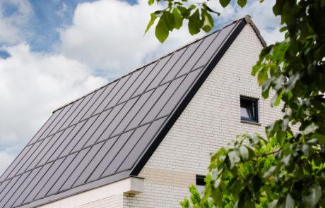 Beausolar dak op huis